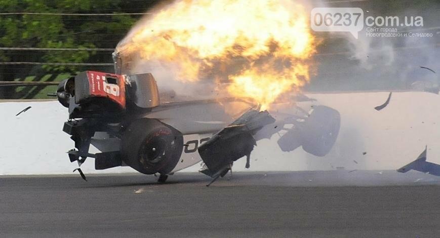 Шокирующая авария: французский гонщик врезался в стену на скорости 370 км/ч, фото-1