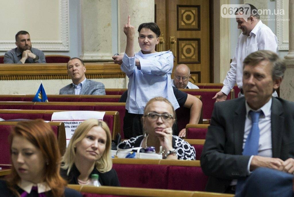 Савченко оконфузилась в Раде, фото-1