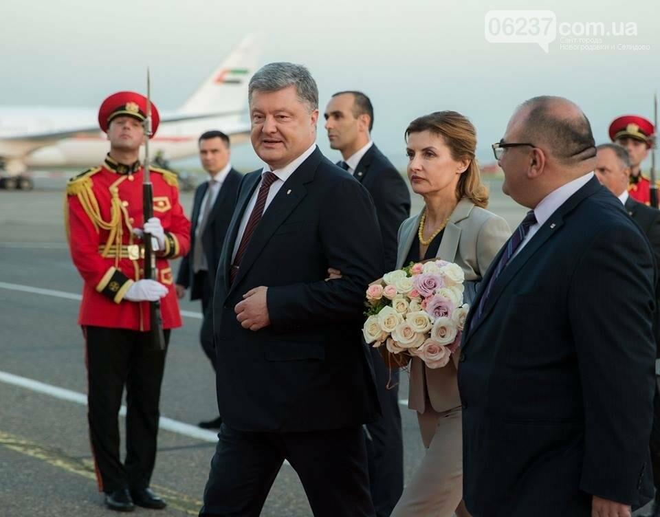 Порошенко прибыл с государственным визитом в Грузию, фото-2