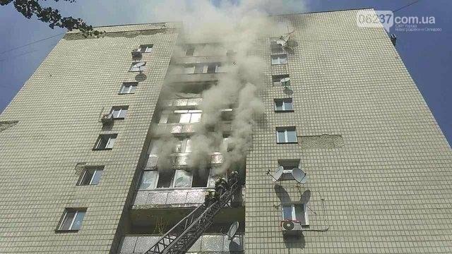 Страшный пожар в центре Киева: погибло три человека, фото-1