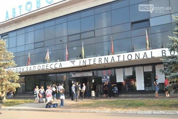 В Одессе горел центральный автовокзал, фото-3