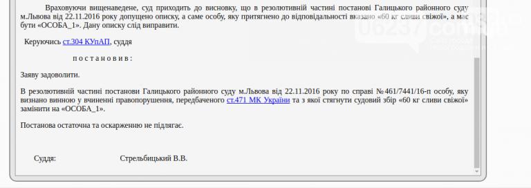 Во Львове судья оштрафовал 60 кг слив, фото-2