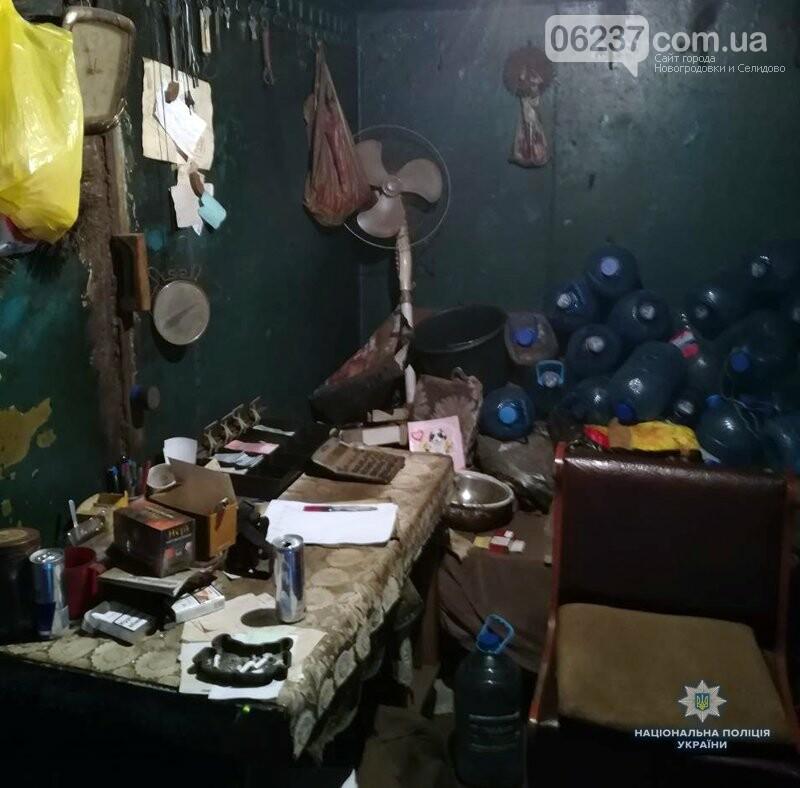 У Новогродівці поліцейські затримали зловмисника, який серед білого дня пограбував пункт прийому склотари, фото-2