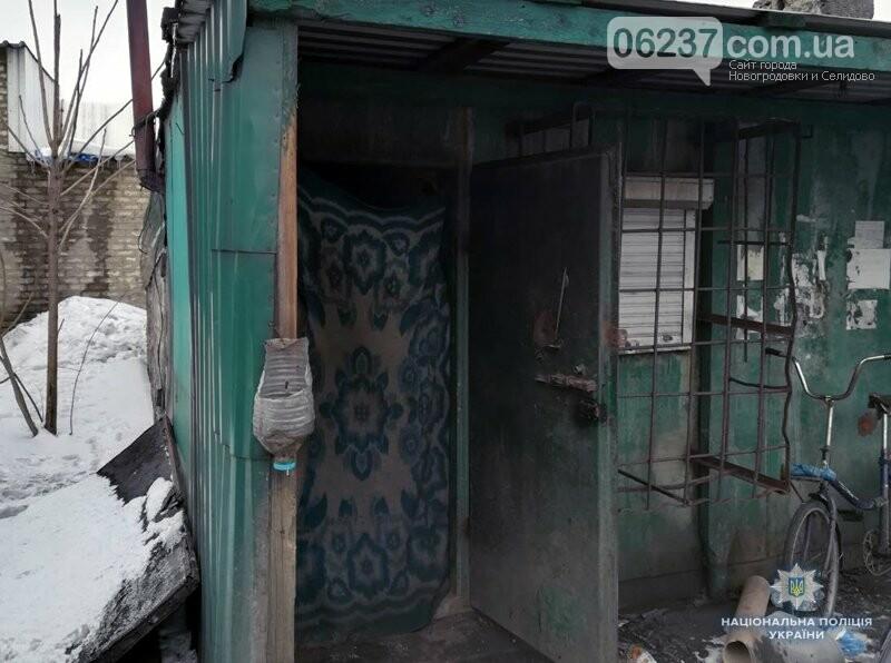 У Новогродівці поліцейські затримали зловмисника, який серед білого дня пограбував пункт прийому склотари, фото-1