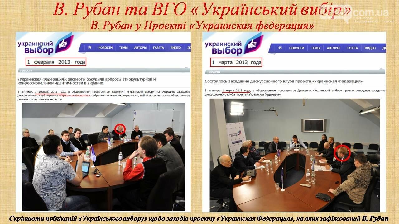 СБУ: Рубан – российский политический проект, фото-12
