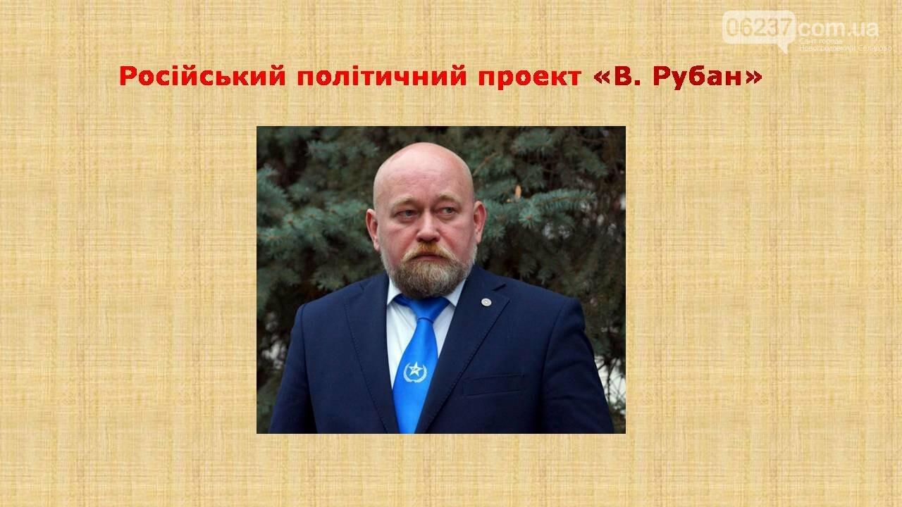 СБУ: Рубан – российский политический проект, фото-1