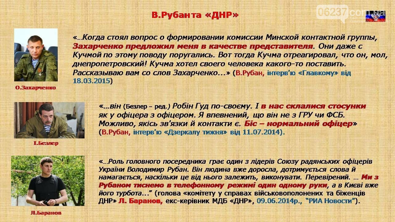 СБУ: Рубан – российский политический проект, фото-26