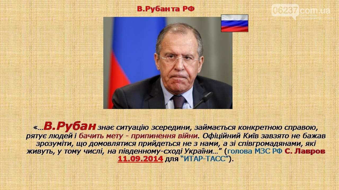 СБУ: Рубан – российский политический проект, фото-21