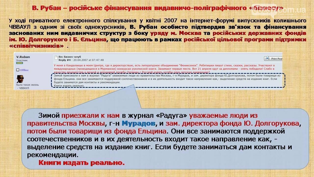 СБУ: Рубан – российский политический проект, фото-5