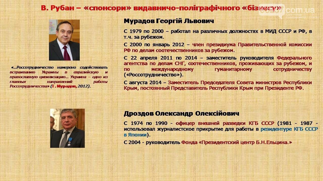 СБУ: Рубан – российский политический проект, фото-6