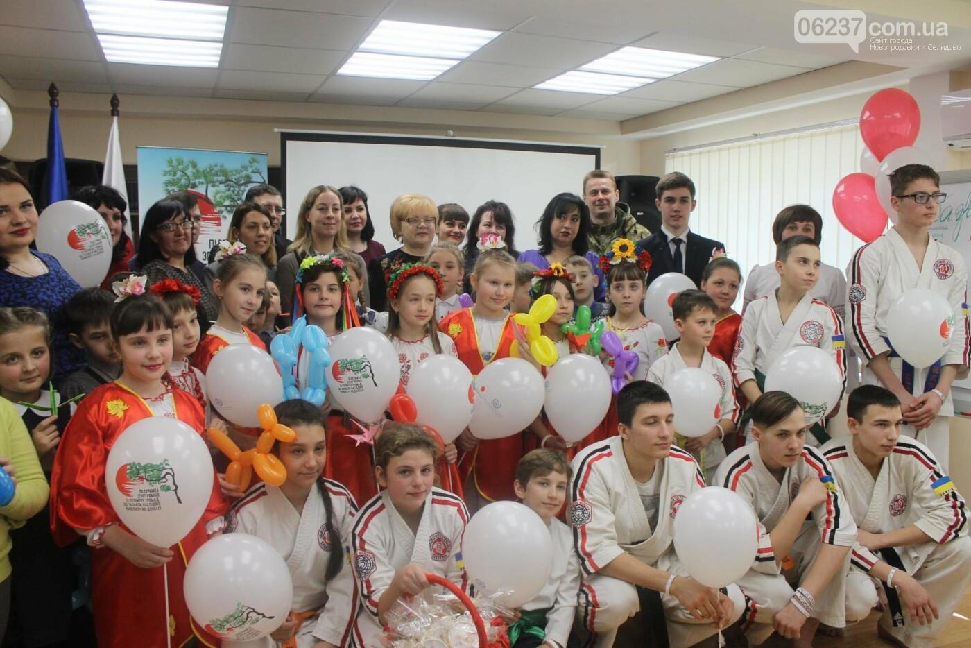 Открытие библиотеки в Новогродовке в рамках проекта Международной организации по миграции, фото-12
