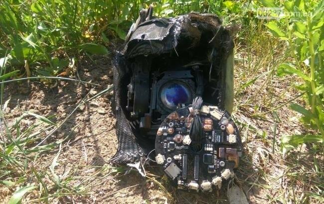 Украинские военные сбили российский беспилотник на Донбассе , фото-1
