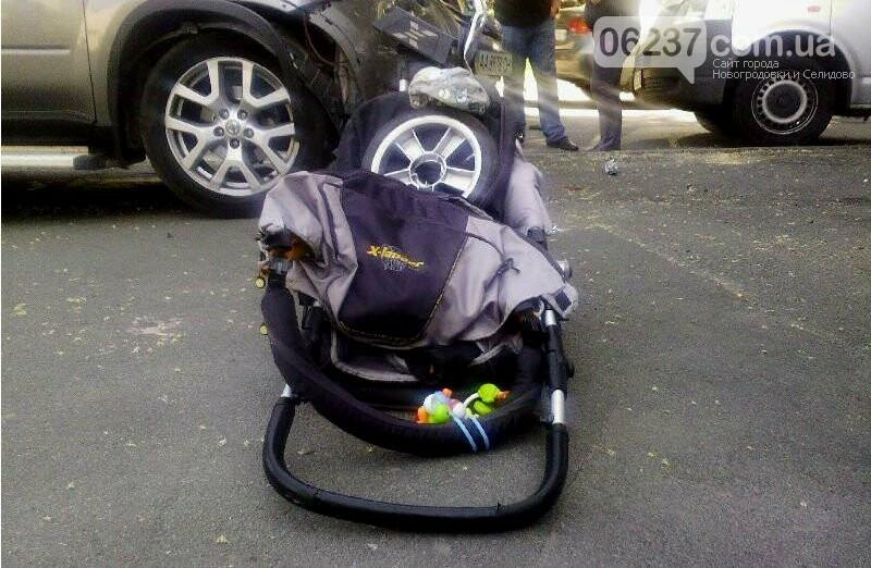 В Харькове легковушка зацепила на тротуаре коляску с 5-месячным ребенком, малыш умер, фото-1