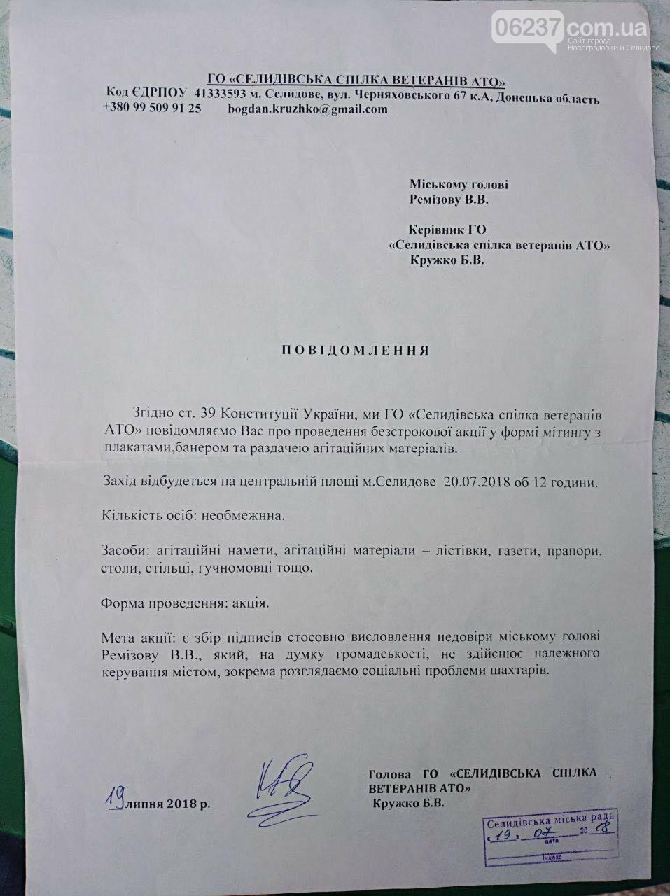 Зачем нам такой мэр: в Селидово собирали подписи о недоверии власти (ФОТОФАКТ), фото-1