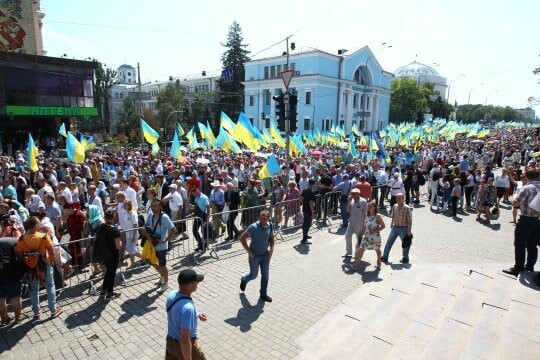 В Киеве проходит Крестный ход в поддержку единой церкви, фото-2