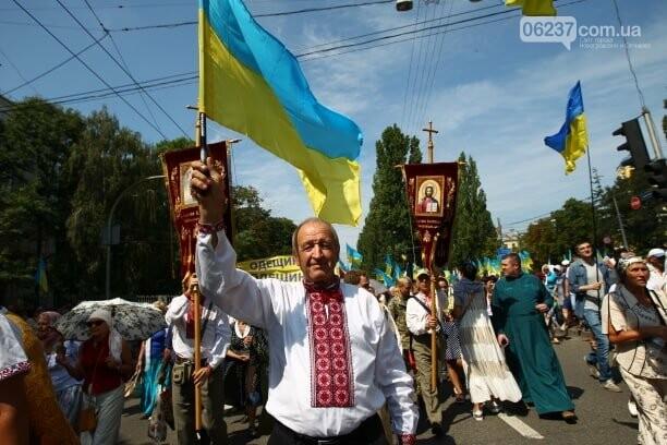 В Киеве проходит Крестный ход в поддержку единой церкви, фото-3