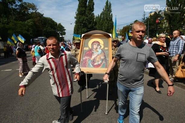 В Киеве проходит Крестный ход в поддержку единой церкви, фото-5