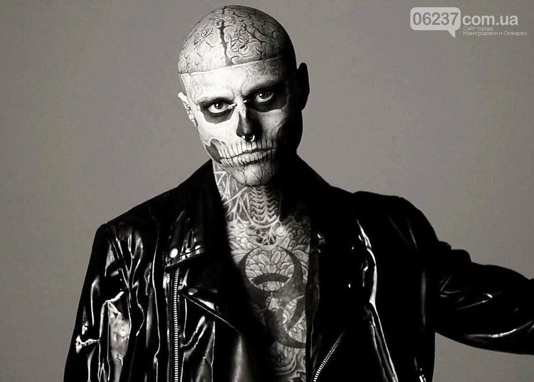 В Канаде покончил с собой самый татуированный артист Zombie Boy, фото-1
