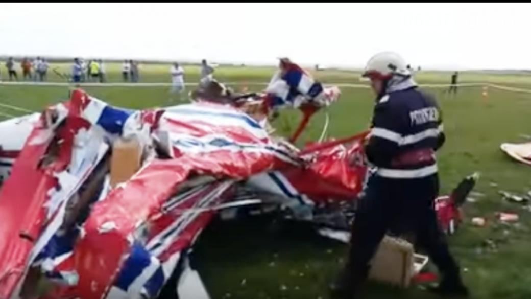 В Румынии на авиашоу столкнулись два самолета: есть жертвы, фото-1