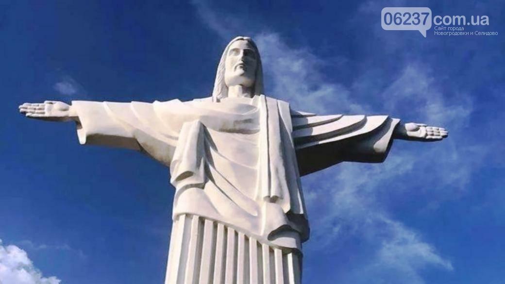 В Украине появилась 12-метровая статуя Иисуса Христа, фото-1