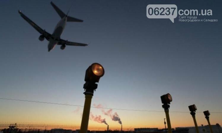 Ночью в Киеве по улицам катался самолет. , фото-1
