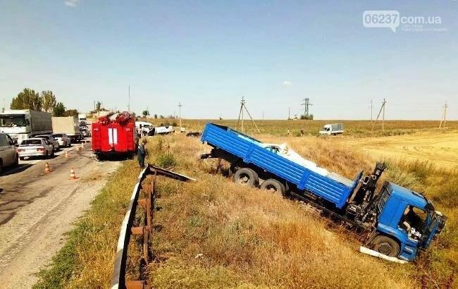 ДТП в Запорожской области: суд арестовал водителя грузовика на два месяца, фото-1