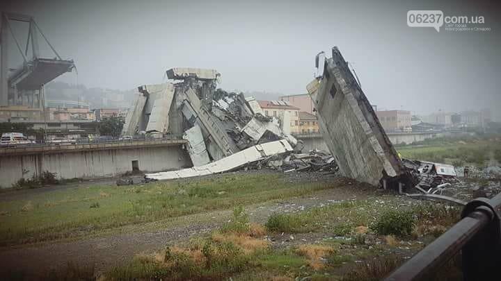 Причиной обрушения моста в Генуе власти назвали серьезные недостатки в обслуживании объекта , фото-1
