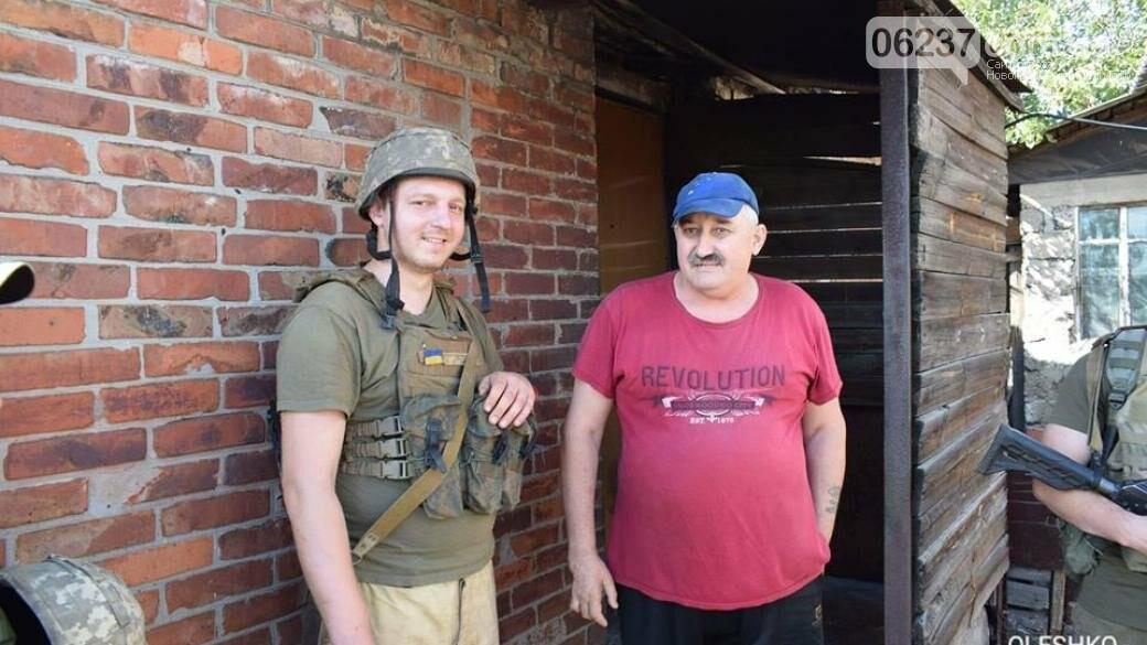 Появились первые фото освобожденного поселка под Горловкой, фото-1
