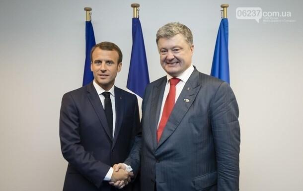 Макрон поздравил украинцев с Днем независимости, фото-1