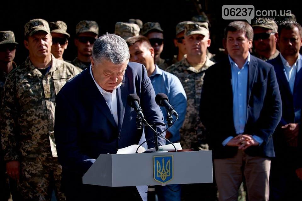 У Авдіївці Президент України Петро Порошенко провів зустріч з українськими дипломатами., фото-3