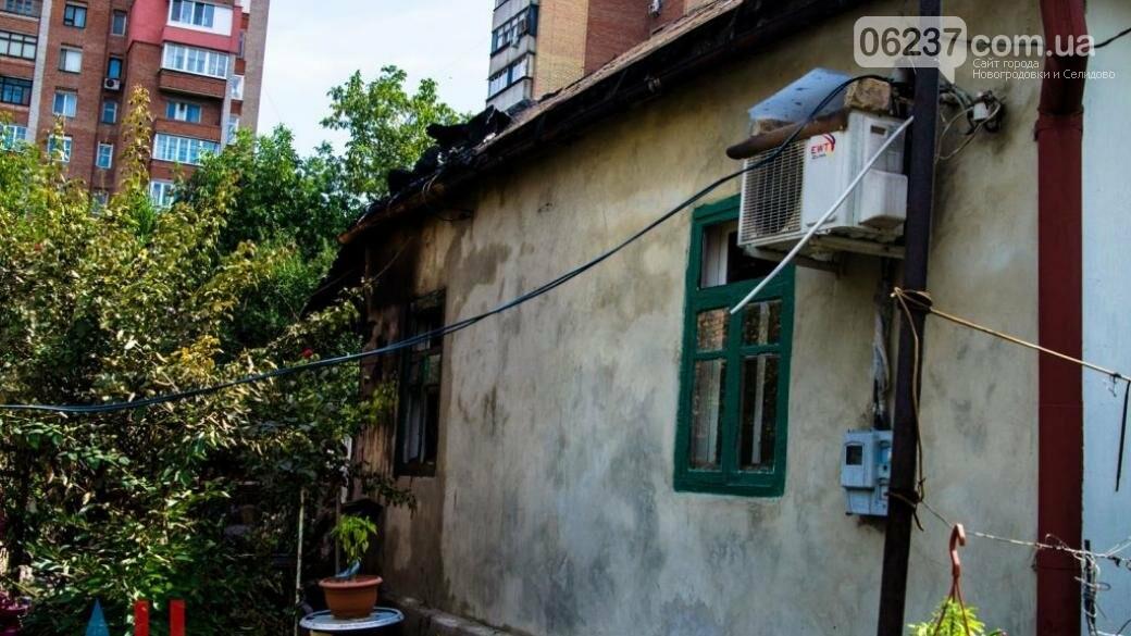 В сеть выложили фото последствий утреннего взрыва в Донецке, фото-1