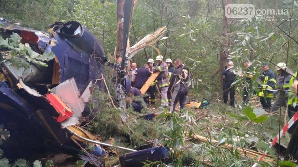 В Киеве разбился вертолет: есть пострадавшие, фото-1