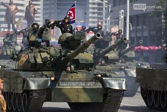 В Пхеньяне прошел военный парад по случаю 70-летия КНДР, фото-1
