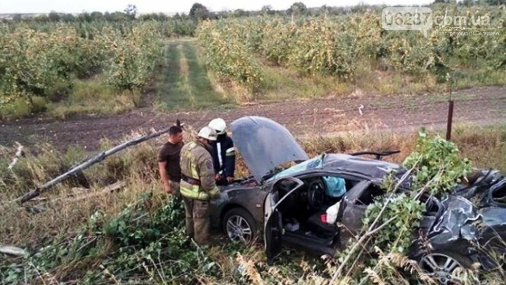На Донетчине произошло смертельное ДТП: двое погибших и двое раненых, фото-1