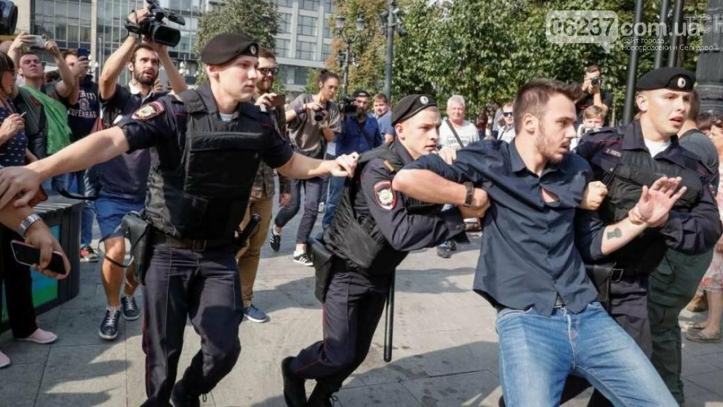 В РФ во время митингов против пенсионной реформы задержано полтысячи человек, фото-1