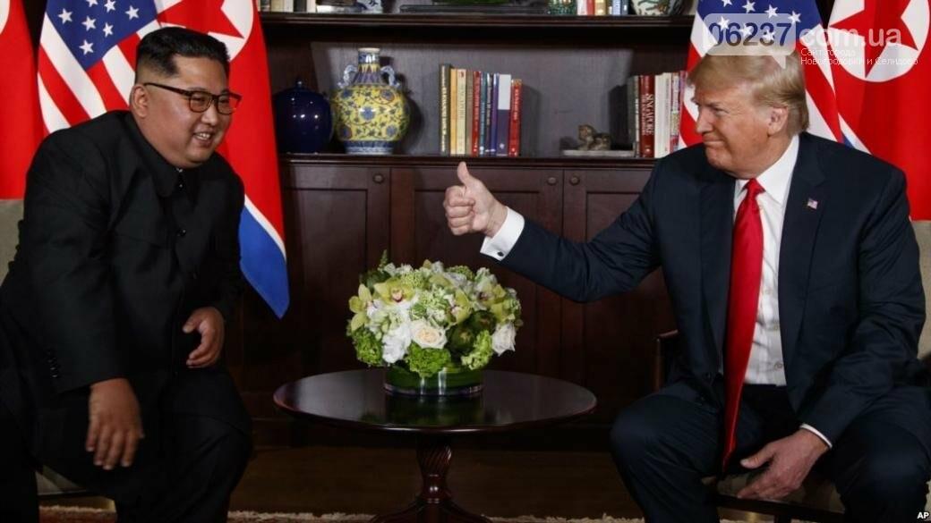 Трамп анонсировал скорую встречу с Ким Чен Ыном, фото-1