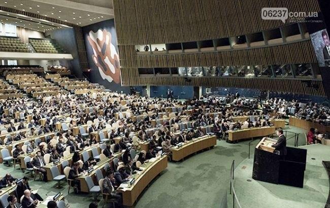 Проти включення до порядку ГА ООН питання окупованих територій проголосували 13 країн, фото-1