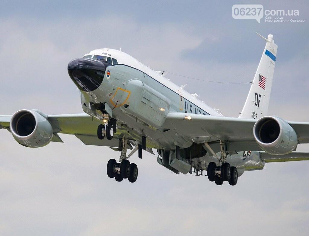 Самолет ВВС США вылетел в район Керченского пролива, фото-1