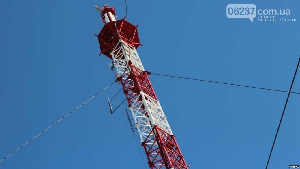 На Донетчине достроили вышку, которая будет транслировать украинские каналы в ОРДО, фото-1