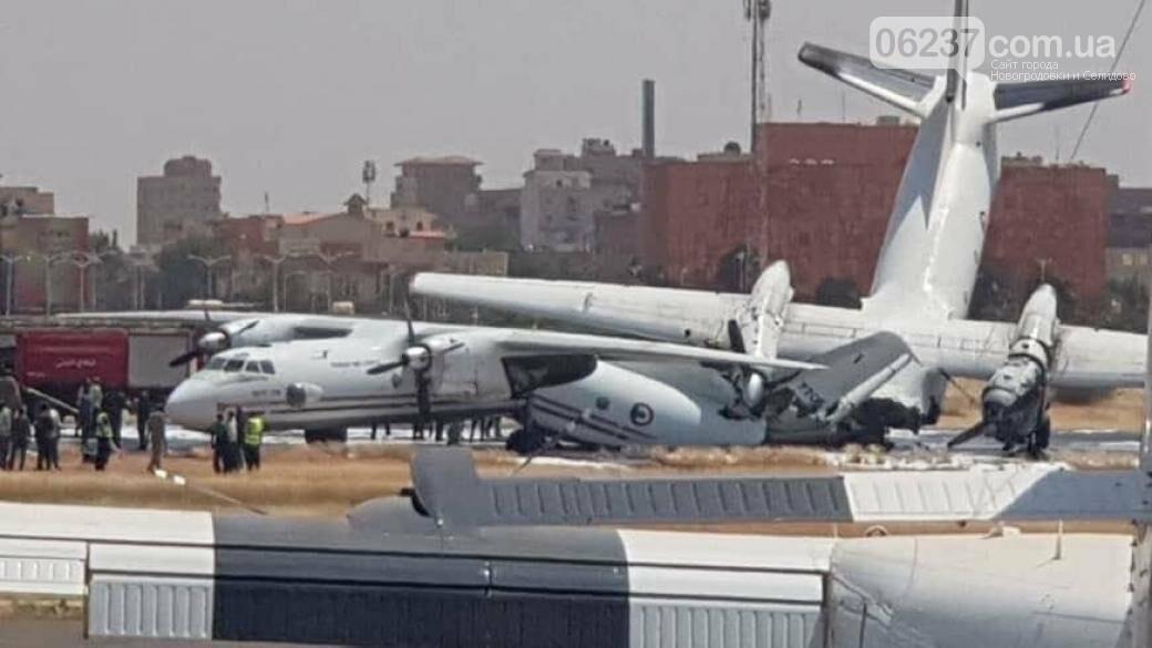 В аэропорту Судана столкнулись украинские самолеты, фото-1