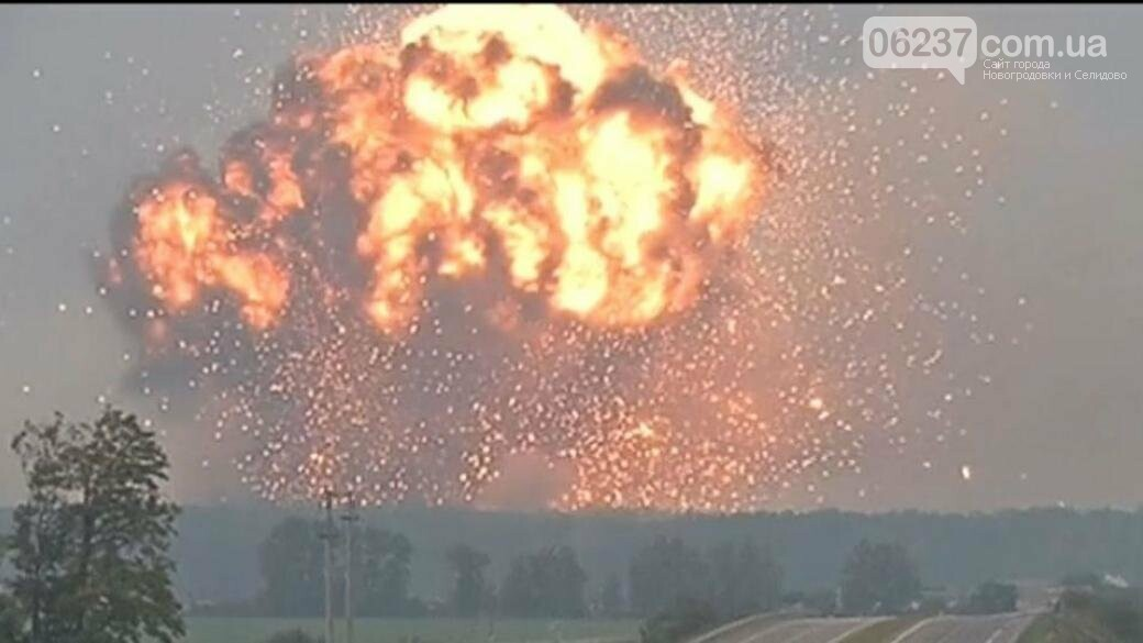 На военных складах в Ичне возобновились взрывы, фото-1