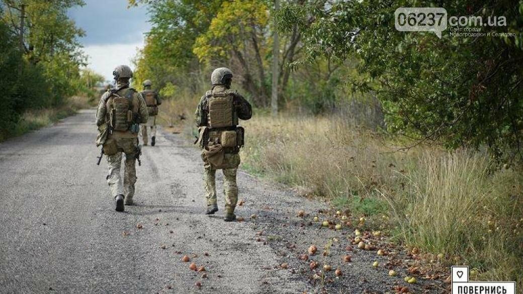 Украинские военные провели зачистку в селе под Волновахой, фото-1