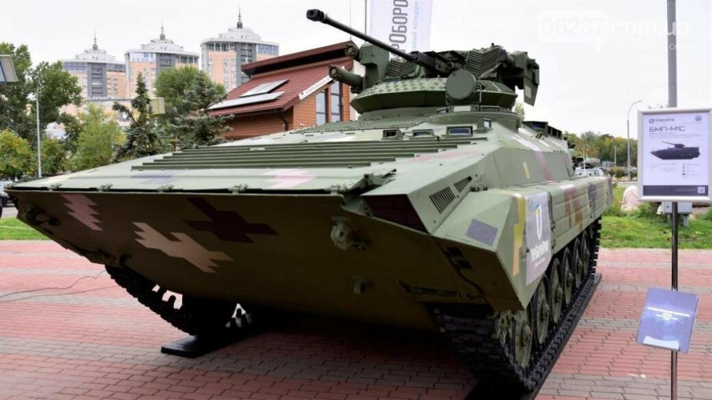 Украинцам показали обновленную БМП, фото-1