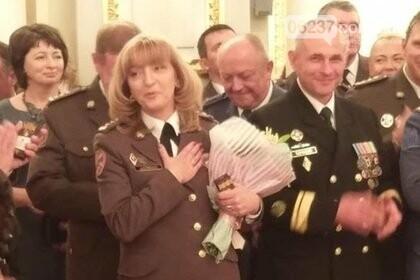 Порошенко впервые присвоил звание генерала женщине, фото-1