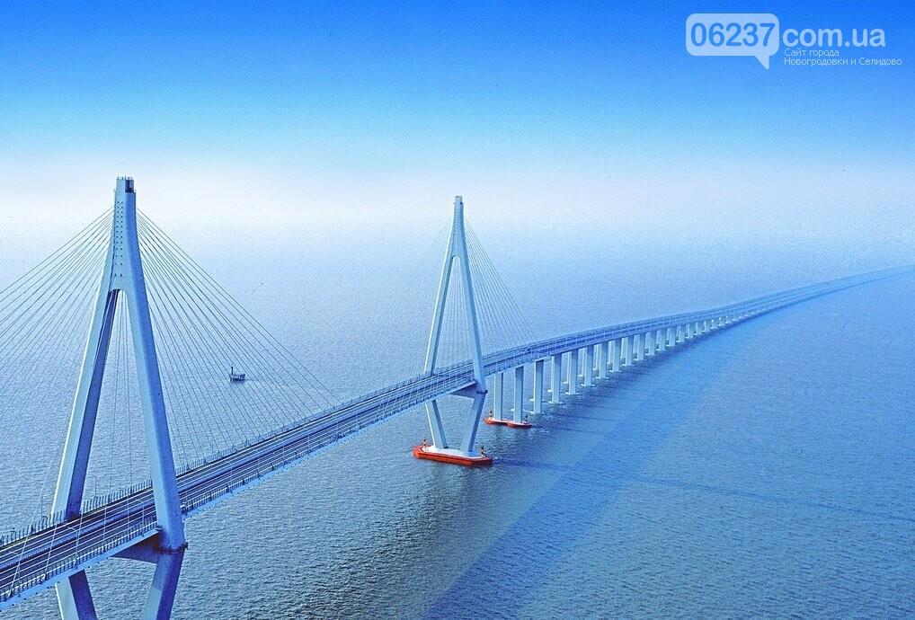 В Китае открыли самый длинный в мире мост, фото-1