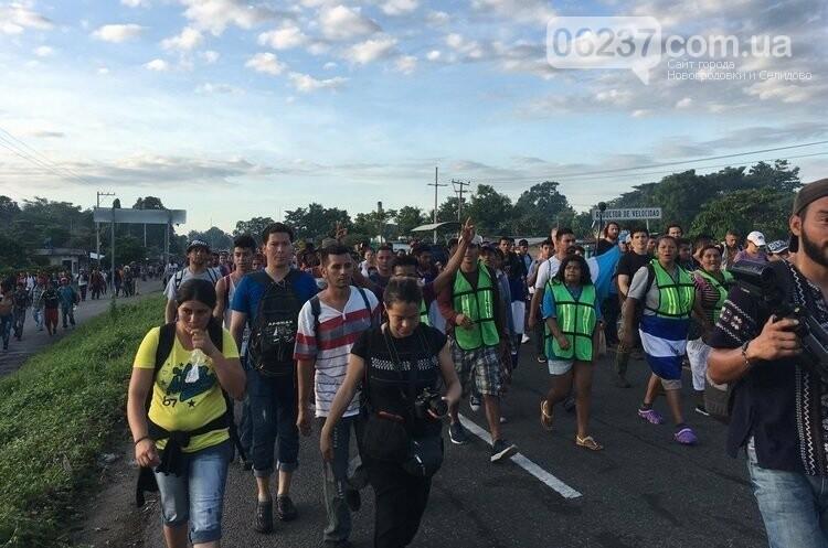 На США насувається караван мігрантів із Гондурасу: Трамп їм не радий, фото-2