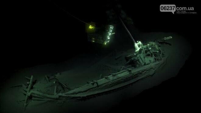 В Черном море нашли самый старый затонувший корабль в нетронутом состоянии, фото-1
