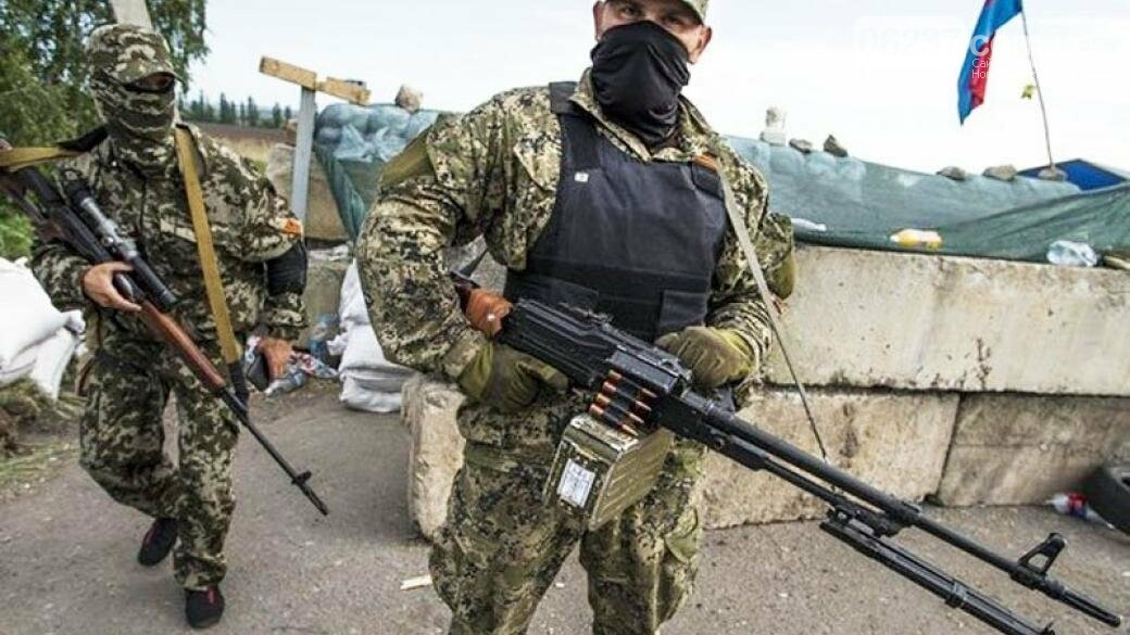 На неподконтрольную часть Донбасса прибыли «казаки» из России, фото-1