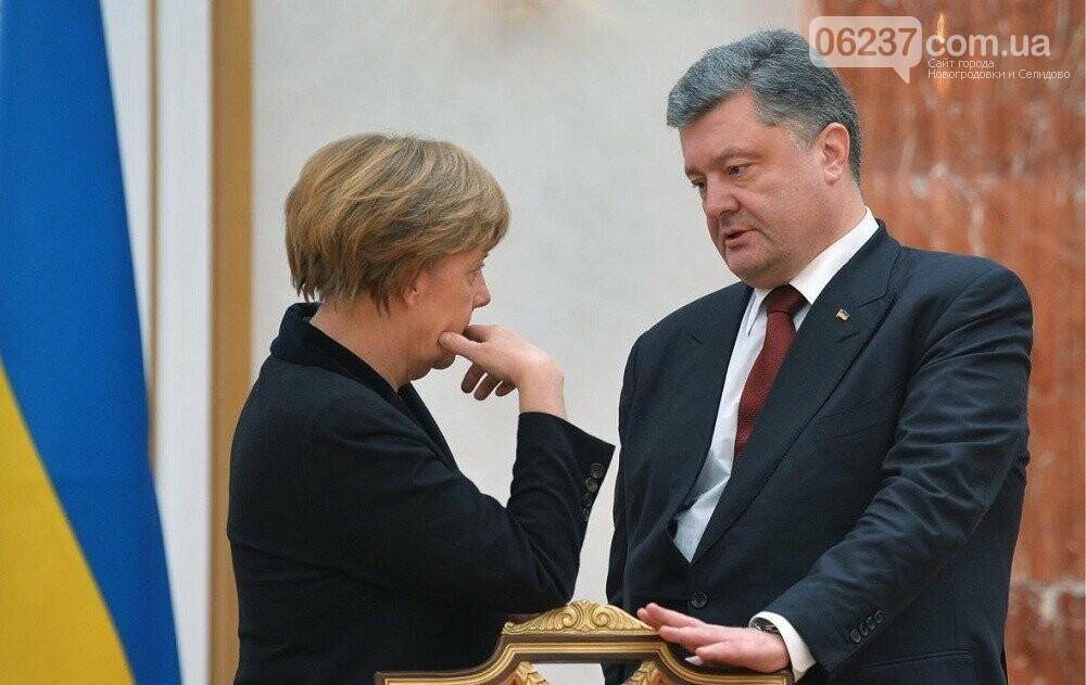 Порошенко обсудит с Меркель интеграцию Украины в ЕС и НАТО, фото-1