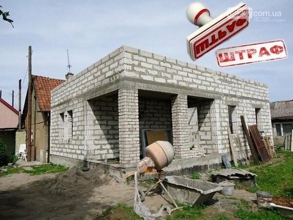 За самовольное строительство в Селидово можно получить немалый штраф, фото-1